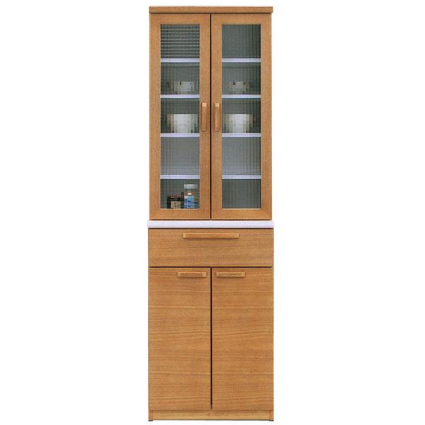 食器棚 開戸完成品 60cm幅 「サンダー」カラー対応2色 開梱設置 送料無料
