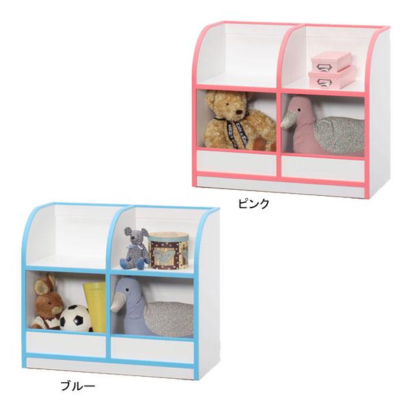 \ポイント増量&お得クーポン/ 【送料無料】おもちゃ箱 トイボックス 収納 子供 キッズ 「アンジュ」 80cm幅 2色対応