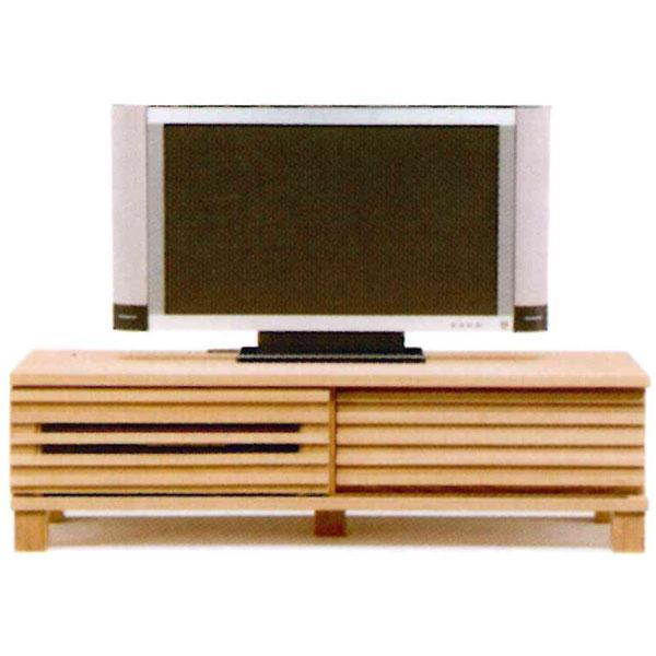 【送料無料】 TVボード ローボードタイプテレビボード テレビ台「如月」 120cm幅 引戸 2色対応