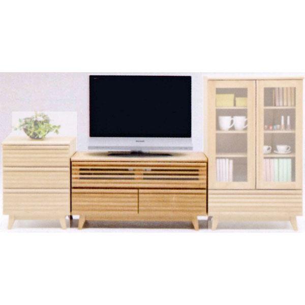 【送料無料】 HTVボード ローボードハイタイプテレビボード テレビ台「皐月」 100cm幅 2色対応