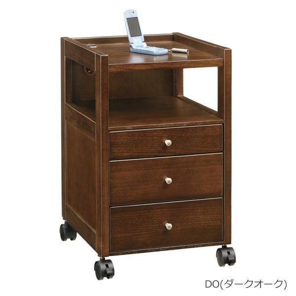 【ポイント増量&お得クーポン】 ナイトテーブル キャスター付き2色対応 「NA-150」 送料無料