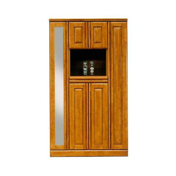 シューズボックス 下駄箱 ハイタイプブラウン 完成品 国産100cm幅 「ジェロ」開梱設置 送料無料