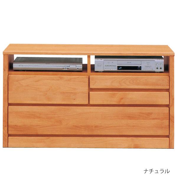 テレビボード 105cm幅2段 TVボード AVチェスト 国産「ティアラ」 送料無料