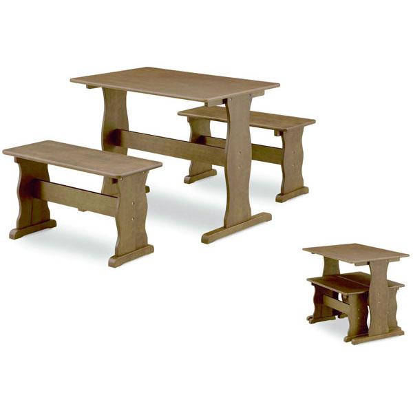 ダイニングテーブルセットダイニングセット 3点セット2人掛け 「ピサ」 送料無料 ※ナチュラル色完売しました。