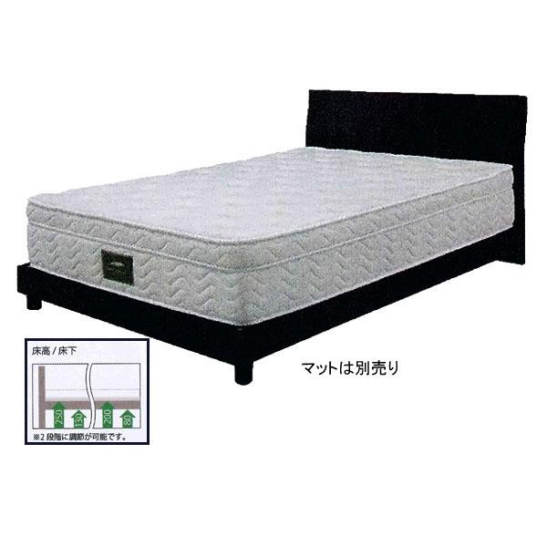 【開梱設置】 送料無料センベラ シングルベッド 「カルディナ」 すのこタイプ 厚いマットレスと薄いマットレス両方対応床面高さ2段階調節
