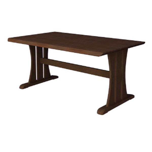 【ポイント増量&お得クーポン】 送料無料ダイニングテーブル「シャンテ-W」 150cm幅 ウォールナット材