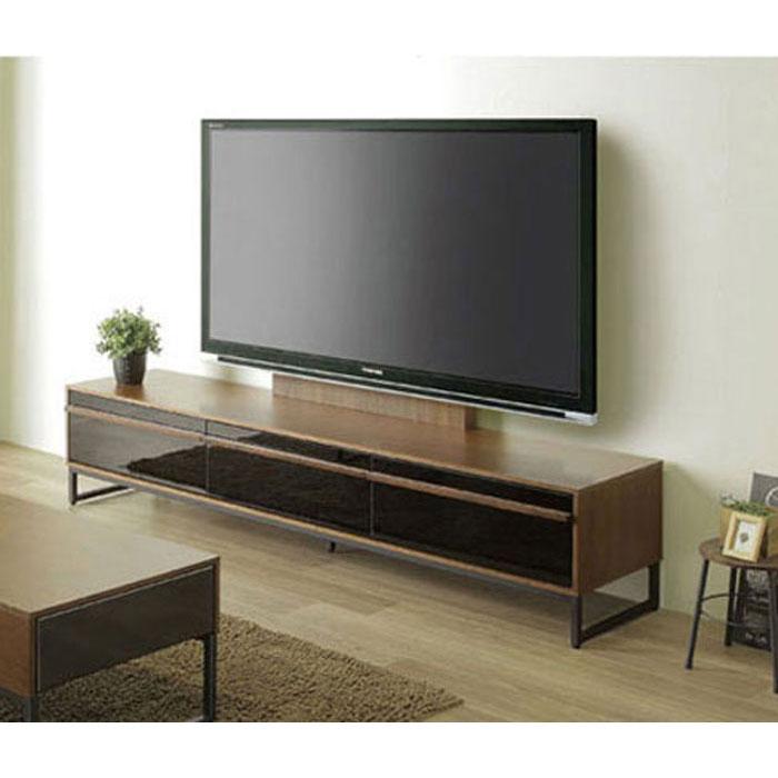 テレビボード 150cm TVB TVボードテレビ台 ローボード 「クロード」ロータイプ フルオープンレール仕様送料無料