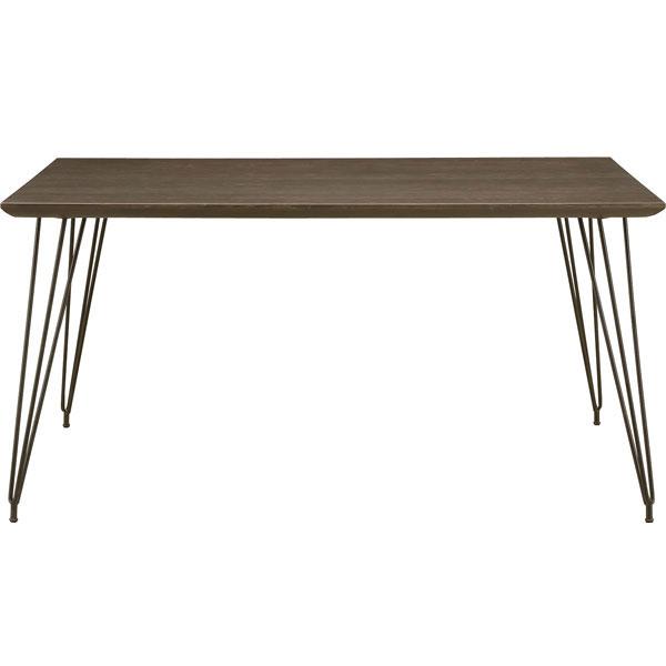 【ポイント増量&お得クーポン】 送料無料テーブルはオーク突板材ダイニングテーブル140cm 「コールA」