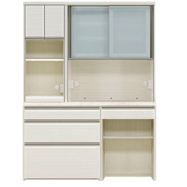 オープン食器棚 150cm幅 完成品 レンジボード「フォルツ」送料無料 開梱設置
