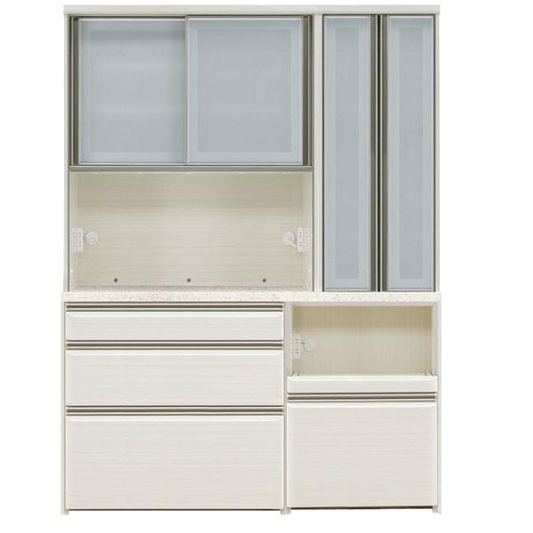 オープン食器棚 150cm幅 完成品 レンジボード「フォルツ」送料無料