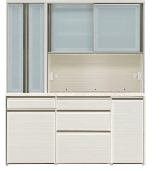 オープン食器棚 170cm幅 完成品 レンジボード 「フォルツ」送料無料 開梱設置 ※8月末の入荷予定