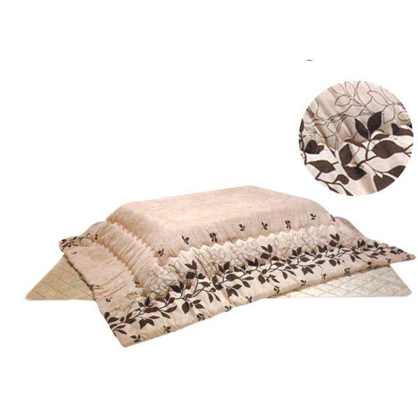 こたつ掛け布団 こたつ 暖卓 正方形「トロワ」 80~90cm用 ※代引不可 こたつ掛布団のみ