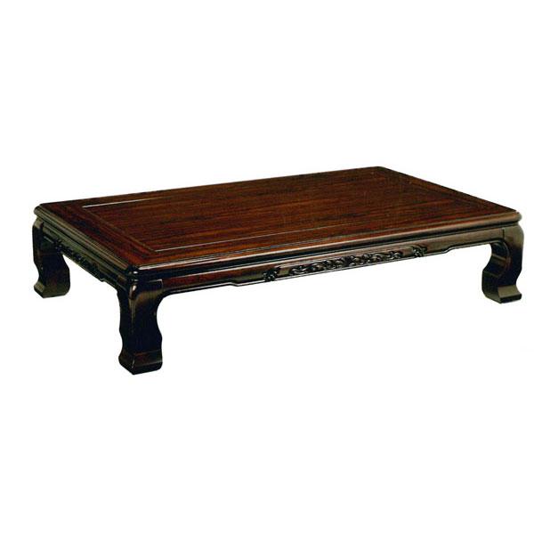 【ポイント増量&お得クーポン】 テーブル 長方形 座卓紫檀 120cm幅国産 送料無料