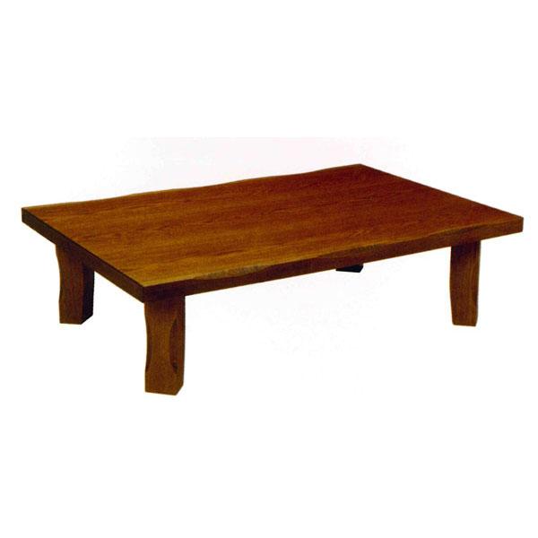 【ポイント増量&お得クーポン】 テーブル 長方形 座卓楢材 折り脚105cm幅 国産 送料無料