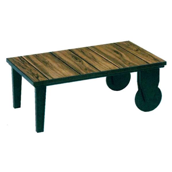 【ポイント増量&お得クーポン】 こたつ コタツ テーブル 家具調105cm幅国産 「オールドホイール」 送料無料