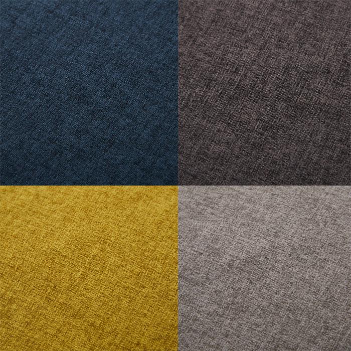 ニコール 3P替えカバー 4色 カラバリ 北欧 ノルディック ブルー グレー マスタード ストーン モダン ナチュラル