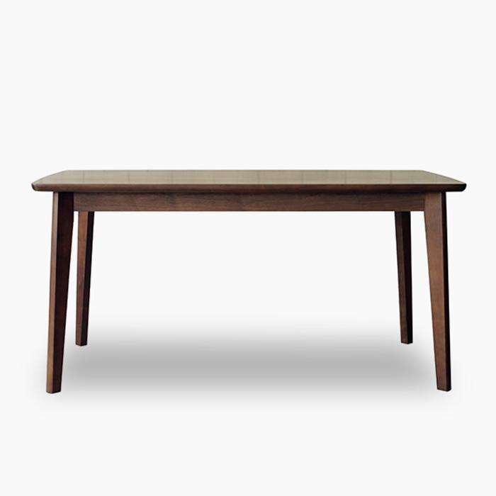 【送料無料】 北欧風ダイニングテーブル 150 LAMIA ラーミア 木製 リビング 4人 単品 食卓 カフェ テーブル単品 ブラウン レトロ モダン カジュアル シンプル 人気 家具 おしゃれ