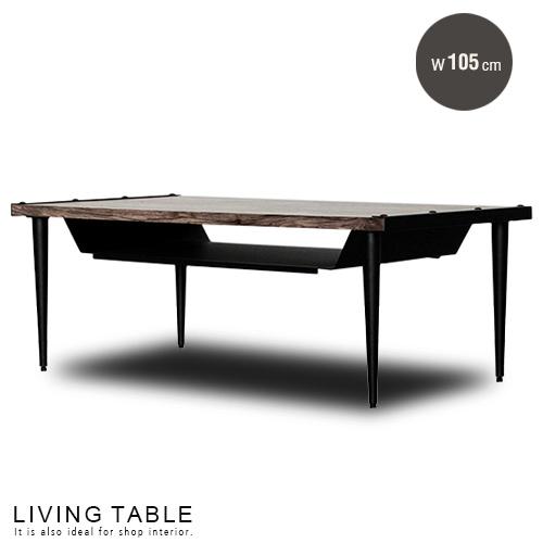 リビングテーブル 105 Regaria レガリア | アメカジ 北欧風 アンティーク風 木製 木 木目 ビンテージ風 リビングテーブル ローテーブル モダン シンプル おしゃれ 送料無料