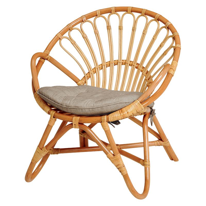 店舗良い 籐チェアー 1人用 幅60 おしゃれ ラタン 籐 椅子 いす 座いす 籐の椅子 籐製 ラタン製 天然素材 シンプル 素朴 籐 夏用 インテリア アクセント 送料無料 RC-1077NA, 九戸郡 719dca17