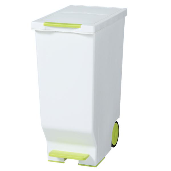 ごみ箱 ゴミ箱 スライドペダルペール 45L グリーン ブラウン ブラック レッド
