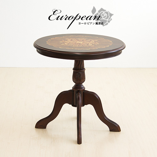 Antique Cafe Table Round Round Table Width 60 Cm European Furniture Classic  Table Center Table Helpful Rococo Interior Storage Brown Vintage Retro  Wooden ...