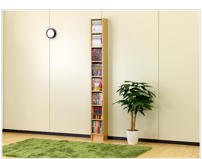 Thin Bookshelf micro Bookshelf space bookcase Bookshelf thin bookcase slim  bookcase slim rack 20 cm height - Kagudoki Rakuten Global Market: Thin Bookshelf Micro Bookshelf