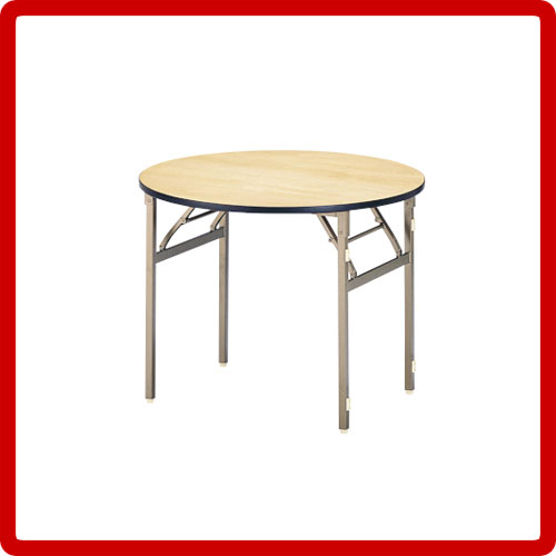 宴会テーブル(円型)ET-900R【送料無料】木製薄型キッズ北欧家具テイスト AKO【送料込み】 新生活
