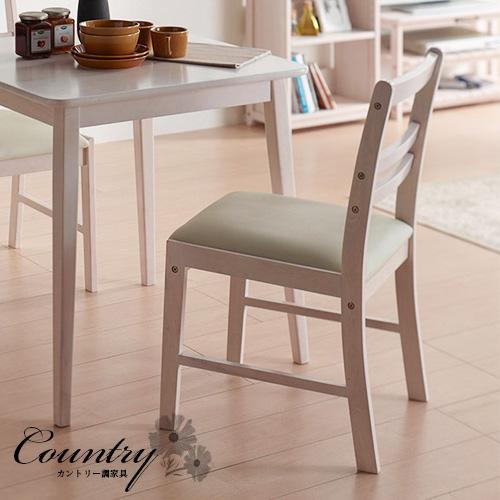 チェア ホワイトウォッシュ 白 木製 ダイニング 椅子 おしゃれ シンプル 北欧 ナチュラル 可愛い フレンチ カントリー調 ガーリー ダイニングチェアー クッション付 肘掛け無し ウッド