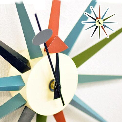 ジョージネルソンデザイン サンバーストクロックCL-08 ネルソン クロック リプロダクト商品 デザイン時計 壁掛け時計 壁時計 ウォールクロック 北欧 復刻 デザイナーズ リプロダクト ジェネリック レプリカAWL【送料込み】 新生活
