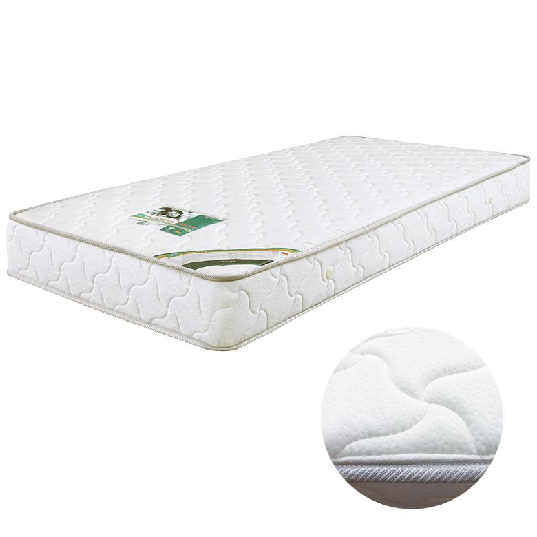 マットレス ポケットコイルマットレス コイル数 690個 厚み 22センチ ワイドダブル ファブリック ニット生地 低反発 ウレタン 布製 シンプル ホワイト 白色 寝具 ベッド ワイドダブルマット ポケットマット WDマット