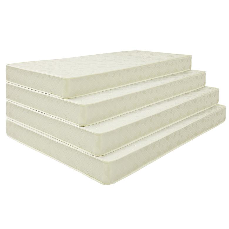 [ 12%offクーポン配布中! ] マットレス ポケットコイルマットレス コイル数 450個 厚み 20センチ シングル ファブリック 布製 シンプル ホワイト 白色 寝具 ベッド シングルマット ポケットマット Sマット