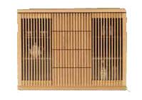 リビング収納 和風 和風モダン フリーボード 幅120cm ハイタイプ リビングボード カウンター 国産 おしゃれ 収納家具 キャビネット サイドボード 両開き 開戸 開き戸タイプ シンプル モダン 壁面家具 ナチュラル ブラウン 和