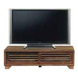 テレビ台 テレビボード ローボード 国産 幅120cm 高さ40cm ロータイプ 桐 うずくり仕上げ tvボード tv台 シンプル おしゃれ 収納 TV台 TVボード 日本製 木製 コード穴 ブラウン ライトブラウン 和風