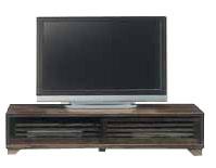 テレビ台 テレビボード ローボード 国産 幅150cm 高さ40cm ロータイプ 桐 うずくり仕上げ tvボード tv台 シンプル おしゃれ 収納 TV台 TVボード 日本製 木製 コード穴 ブラウン ライトブラウン 和風