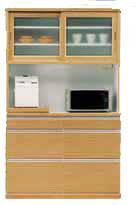【最大12%OFFクーポン!】sale セール! 食器棚 ナチュラル ブラウン [ 1262-1282 ] 120 オープンダイニングボード