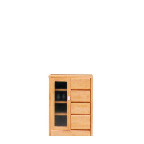 サイドボード 幅60cm リビングボード 国産 収納家具 キャビネット ガラス ガラス戸 リビング収納 キッチンカウンター 開戸 開戸タイプ 引き出し コンパクト ナチュラル 北欧 シンプル モダン 壁面家具