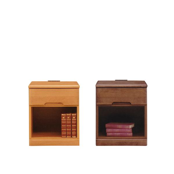 チェスト サイドチェスト サイドテーブル ナイトテーブル 1段 幅40cm コンセント付き 引き出し付き 収納 木製 家具 寝室収納 ベッドサイドチェスト 収納ラック リビング収納 レトロ モダン シンプル おしゃれ