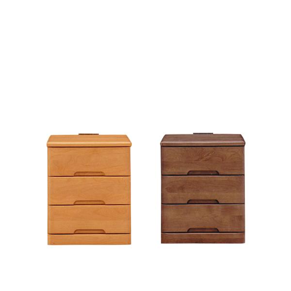 [ 半額・10%以上OFF対象 ] チェスト サイドチェスト サイドテーブル ナイトテーブル 3段 幅40cm コンセント付き 引き出し付き 収納 木製 家具 寝室収納 ベッドサイドチェスト 収納ラック リビング収納 レトロ モダン シンプル おしゃれ