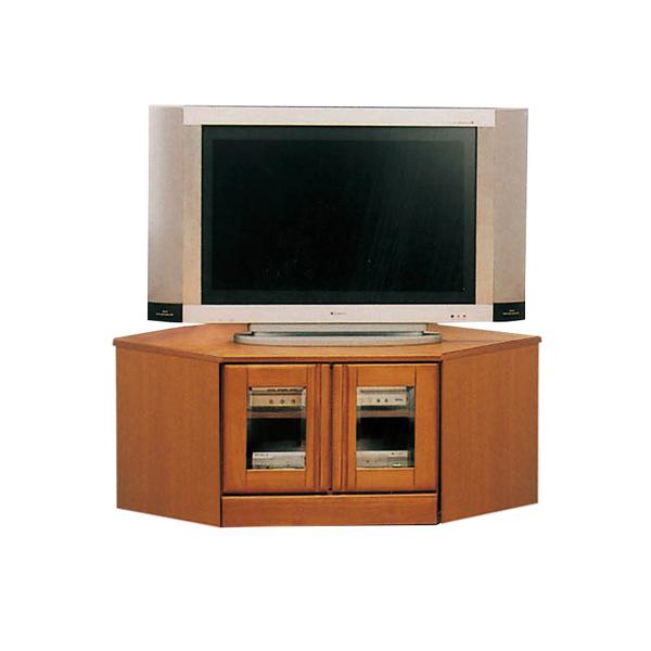 テレビ台 テレビボード コーナーボード 国産 幅90cm 高さ47cm テレビラック ローボード ガラス 引き出し シンプル おしゃれ 収納 TV台 TVボード 日本製 木製 ラバーウッド ライトブラウンボード