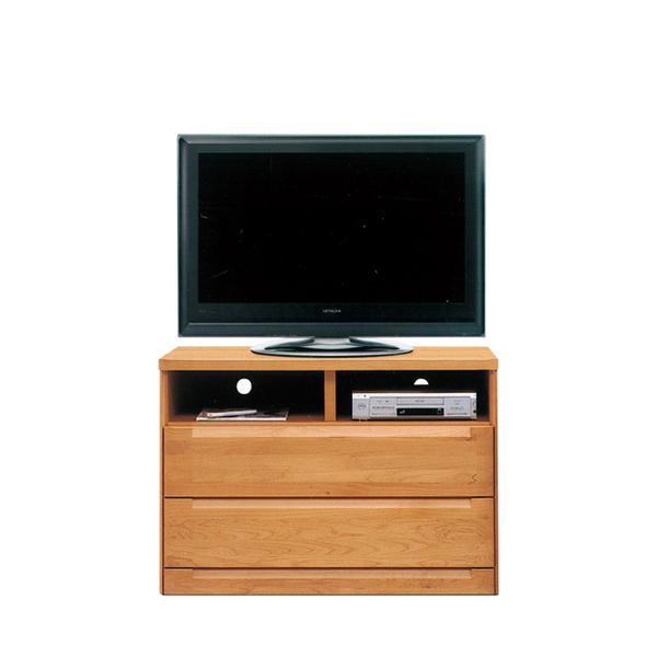 テレビ台 テレビボード ハイタイプ 日本製 幅105cm 高さ75cm 収納ラック リビング収納 木製 収納付き 収納 引出し TV台 おしゃれ アルダー ナチュラル 高め