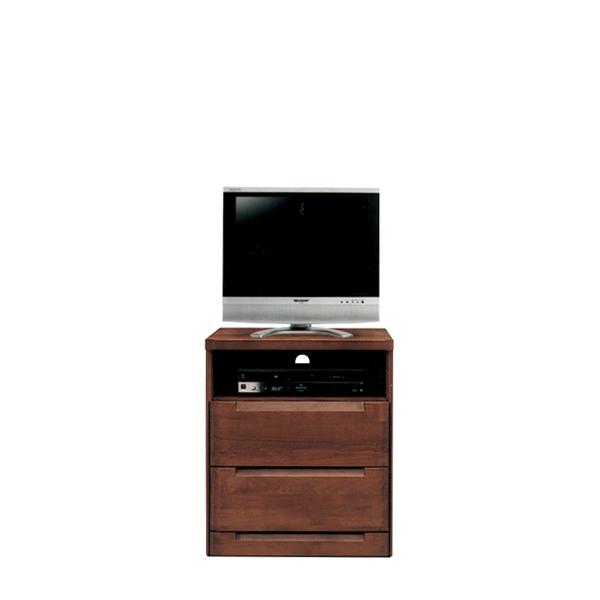 [ 半額・10%以上OFF対象 ] テレビ台 テレビボード ハイタイプ 日本製 幅60cm 高さ75cm 収納ラック リビング収納 木製 収納付き 収納 引出し TV台 おしゃれ アルダー ダークブラウン 高め