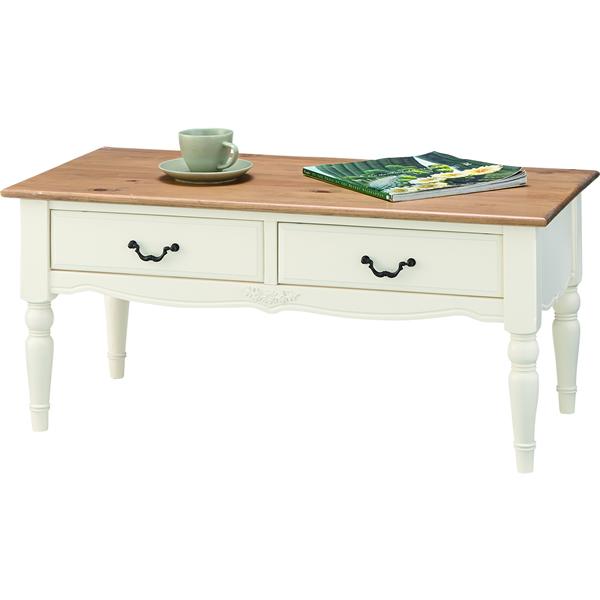 コーヒーテーブル ローテーブル リビングテーブル センターテーブル モダンカントリー 天然木パイン・マホガニー