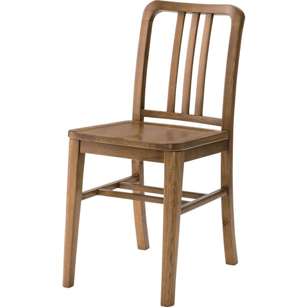 ダイニングチェア 食卓椅子 天然木オーク ナチュラル ブラウン 2脚購入はお値打ち♪
