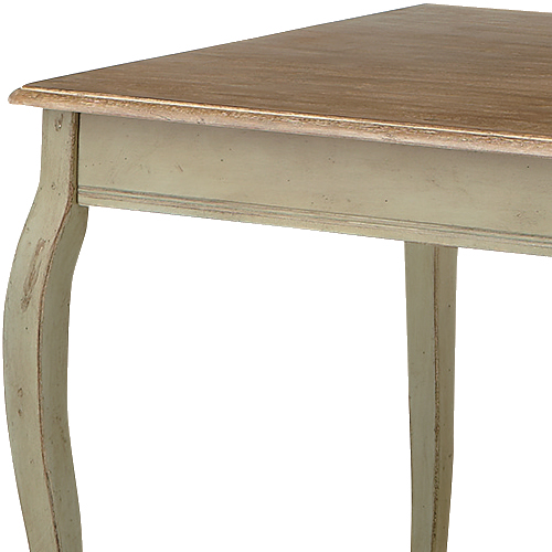 優雅なラインで魅せるデザイン♪ダイニングテーブル/YEC-001幅140cm/組立品