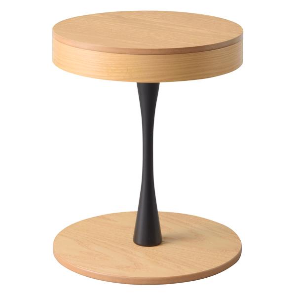 サイドテーブル 収納 カフェテーブル 円形テーブル