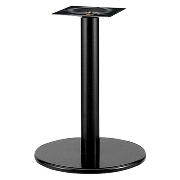 業務用 テーブル脚 カスタマイズ スチール丸ベース 黒塗装 クロームメッキ こちらはSサイズ(ブラック)の価格です