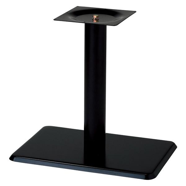 業務用 テーブル脚 カスタマイズ スチール角ベース 黒塗装 シルバー塗装 クロームメッキ アジャスター付 こちらはSサイズ(ブラック・シルバー)の価格です