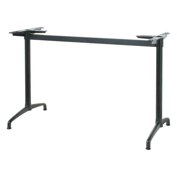 業務用 ハイカウンター脚 テーブル脚 対立脚タイプ カスタマイズ 黒塗装 シルバー塗装 クロームメッキ こちらは100(ブラック・シルバー)の価格です