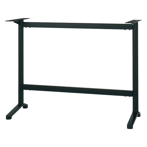 業務用 ハイカウンター脚 テーブル脚 対立脚タイプ カスタマイズ 黒塗装 シルバー塗装