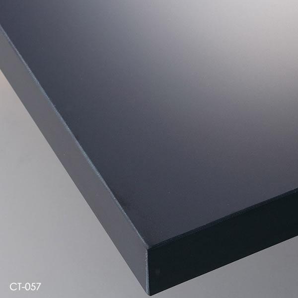 業務用 テーブル天板 オーダー カスタマイズ お好みサイズ 艶無しホワイト 艶無しブラック 艶有ホワイト 艶有ブラック メラミン化粧板 共貼り W~500×D~500mm こちらは最小サイズの価格です